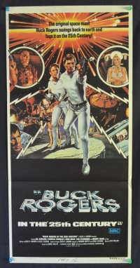 Buck Rodgers In The 25th Century Gil Gerard Pamela Hensley Daybill poster