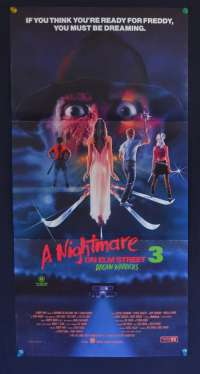 Nightmare On Elm Street 3 Daybill Poster