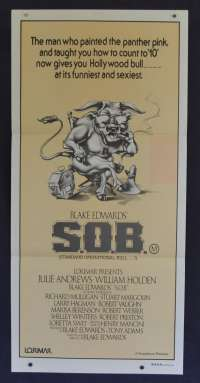 S.O.B. Daybill Movie poster