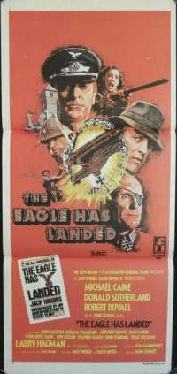 The Eagle Has Landed Daybill Movie Poster