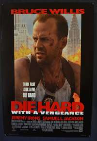 Die Hard 3 With a Vengeance Poster Original USA One Sheet 1995 Bruce Willis