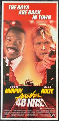 Another 48 Hours Movie Poster Original Daybill Eddie Murphy Nick Nolte