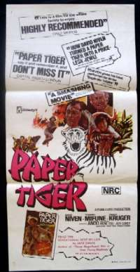 Paper Tiger Daybill Movie poster
