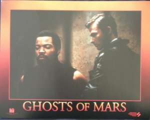 Ghosts Of Mars Lobby Card