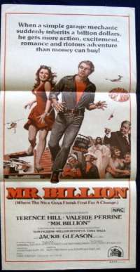 Mr. Billion Trinity Daybill Movie poster