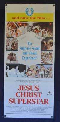 Jesus Christ Superstar Daybill Poster 1973 Ted Neeley Norman Jewison