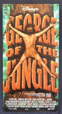George Of The Jungle Movie Poster Original Daybill Rolled 1997 Brendan Fraser