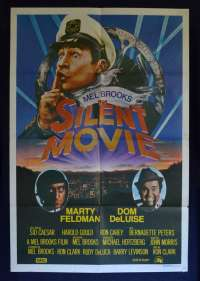 Silent Movie 1976 One Sheet Movie poster John Alvin Art Mel Brooks Marty Feldman