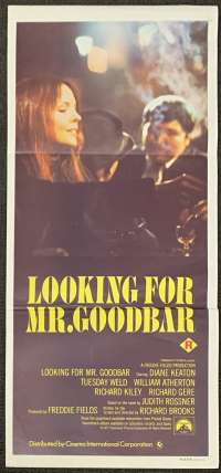 Looking For Mr. Goodbar Poster Original Daybill 1977 Diane Keaton Tuesday Weld