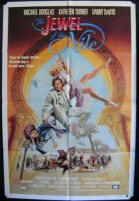 Jewel Of The Nile, The One Sheet Australian Movie poster