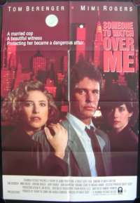 Someone To Watch Over me One Sheet Australian Movie poster
