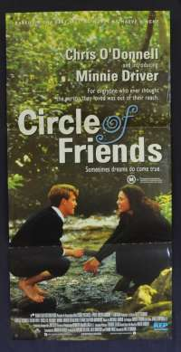Circle Of Friends 1995 Daybill movie poster Chris O'Donnell Minnie Driver