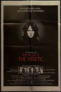 Exorcist II The Heretic One Sheet Australian Movie poster