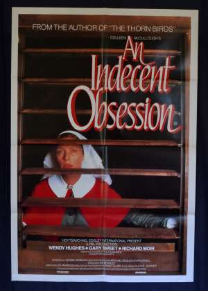 An Indecent Obsession 1984 One Sheet Movie Poster Wendy Hughes Gary Sweet