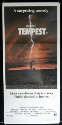 Tempest 1982 Daybill movie poster Molly Ringwald