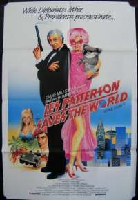 Les Patterson Saves The World Dame Edna 1987 one sheet movie poster