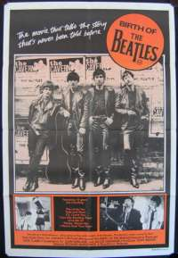 Birth Of The Beatles One Sheet Australian Movie poster