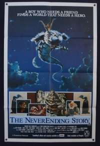 The Neverending Story Poster Original One Sheet 1984 Noah Hathaway