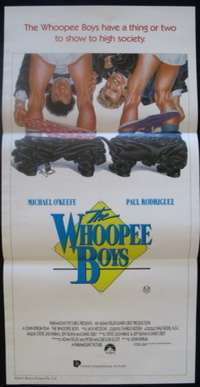 The Whoopee Boys Michael O'Keefe Daybill movie poster