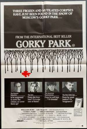 Gorky Park One Sheet Australian Movie poster