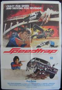 Speed Trap One Sheet Australian Movie poster