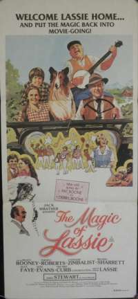 Magic Of Lassie, The Daybill Movie poster