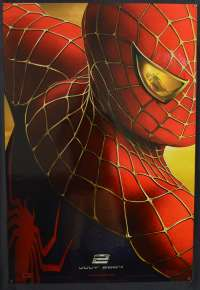 Spiderman 2 Movie Poster Original One Sheet USA 2004 Teaser Art