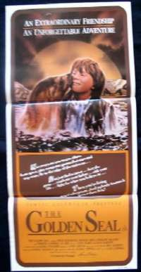 The Golden Seal Poster Australian Daybill Movie poster