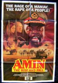 Amin The Rise And Fall movie poster one sheet Idi Amin Uganda