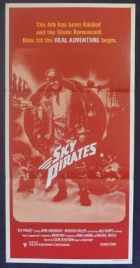Sky Pirates 1986 aka Dakota Harris Daybill movie poster John Hargreaves