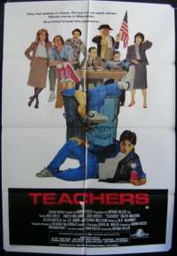 Teachers One Sheet Australian Movie poster