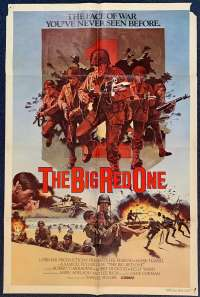 The Big Red One Poster Original USA One Sheet 1980 Lee Marvin Mark Hamill