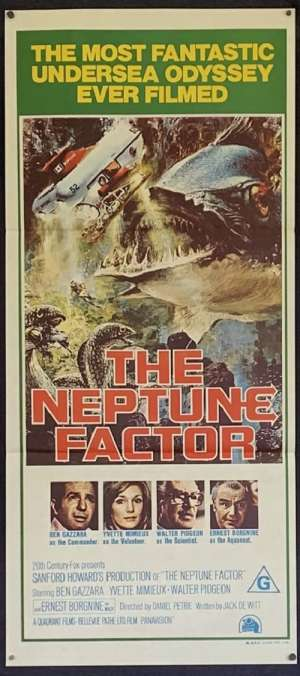 Neptune Factor, The Daybill Movie poster