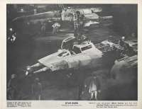 Star Wars Movie Still Reproduction B/W Rebel Y-Wing Starship Bomber