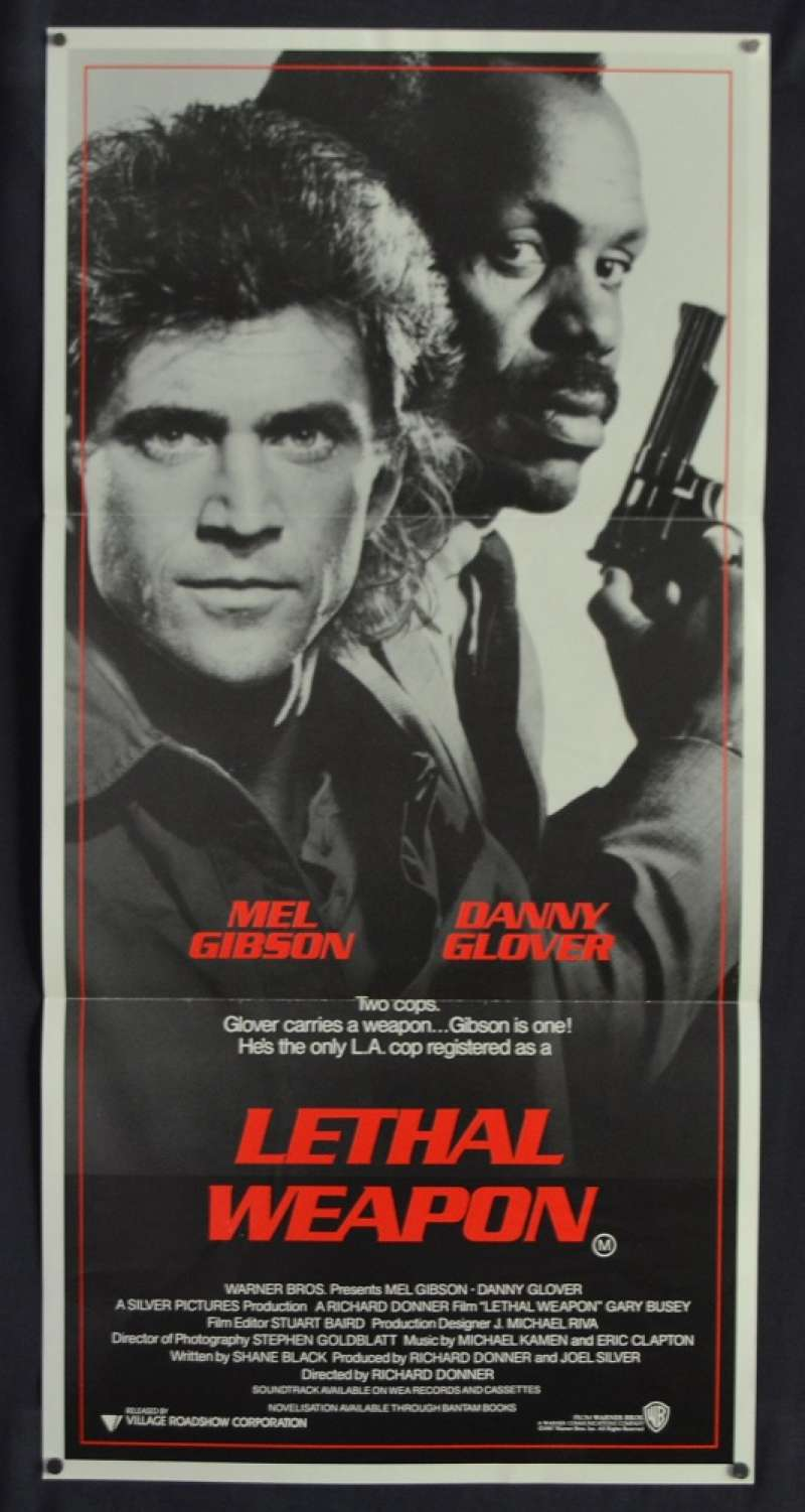 all about movies lethal weapon movie poster original