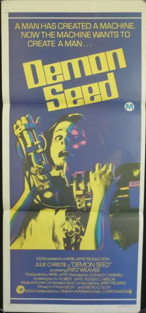 Demon Seed Daybill Movie poster