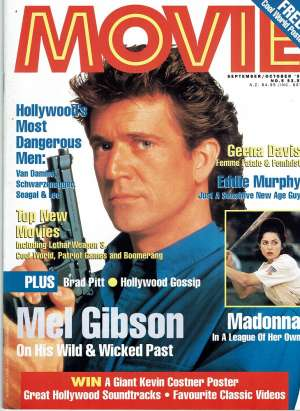 Lethal Weapon 3 Movie Magazine 1992 Number 5 Mel Gibson