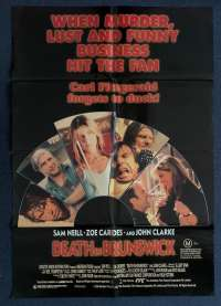 Death In Brunswick Poster Original One Sheet 1990 Sam Neill John Clarke