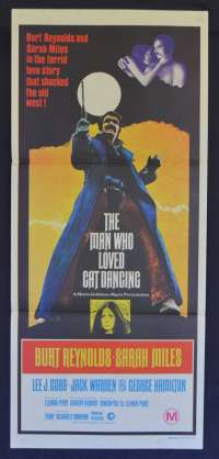 The Man Who Loved Cat Dancing Movie Poster Original Daybill Burt Reynolds