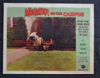 Monster On The Campus Lobby Card 8 1958  Arthur Franz Joanna Moore Sci-Fi Horror