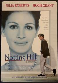 Notting Hill Poster Original One Sheet 1999 Julia Roberts Hugh Grant Richard Curtis
