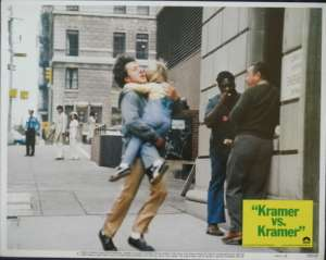 Kramer vs. Kramer Lobby Card No 5