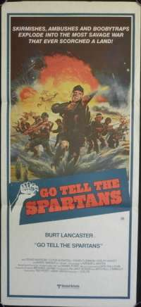 Go Tell The Spartans Daybill Movie poster