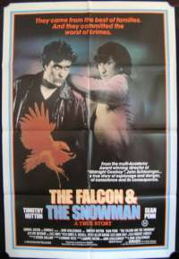 Falcon & The Snowman, The One Sheet Australian Movie poster