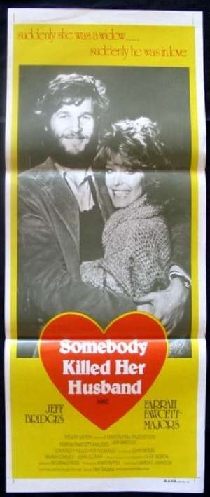 Somebody Killed Her Husband Daybill Movie poster