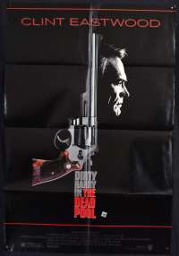 The Dead Pool 1988 One sheet USA movie poster Eastwood Dirty Harry Liam Neeson
