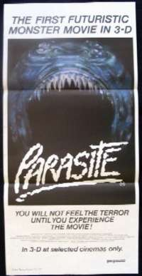 Parasite Daybill Movie poster 3D Demi Moore