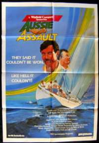 Aussie Assault movie poster America's Cup Sailing One Sheet