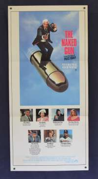 The Naked Gun Daybill Movie Poster Leslie Neilson Priscilla Presley