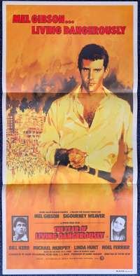 The Year Of Living Dangerously 1982 Daybill movie poster Mel Gibson